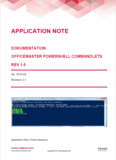 Application Note: PowerShell-Befehle für OfficeMaster Gate