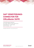 Datenblatt: SAP® Connector für OfficeMaster Suite
